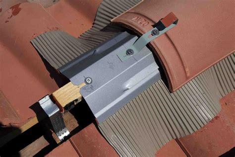 Tuiles Faitiere refaire une fa 238 ti 232 re de toiture avec la technique des