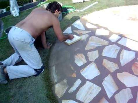 polygonal steine verlegen youtube