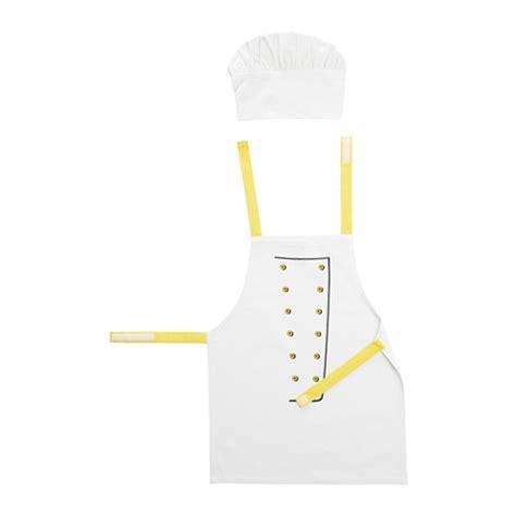 tablier cuisine toppklocka tablier pour enfant avec toque ikea