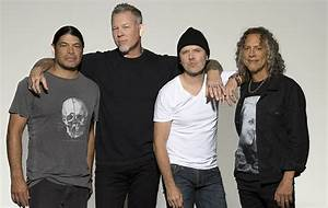 Metallica named Best International Band supported by ...