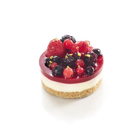 cheesecake aux fruits rouges