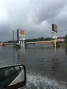 Surfside Beach SC Flooding Hurricane Matthew