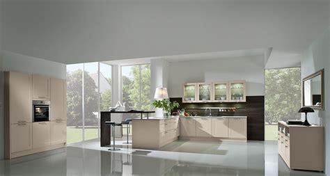 gezellige en open keuken  de kleur kasjmier