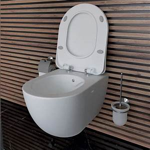 Hänge Wc Randlos : creavit design keramik h nge dusch wc randlos bidetfuktion oval fe322 34 ebay ~ A.2002-acura-tl-radio.info Haus und Dekorationen