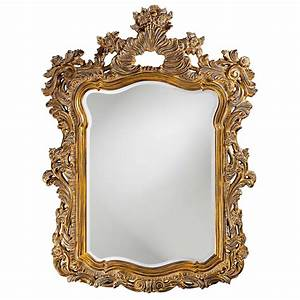 Turner Antique Gold Mirror Howard Elliott