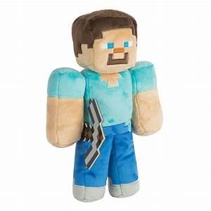 JINX Minecraft 12quot Steve Plush