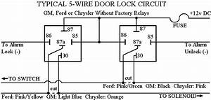 2wire Wiring Diagram Door Lock Actuators
