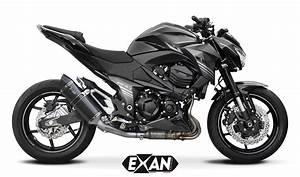 Kawasaki Z800 Prix : silencieux exan kawasaki z800 x black oval finition inox inox noir titane ou carbone ~ Maxctalentgroup.com Avis de Voitures