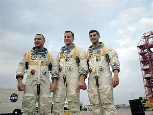 **3 Astronauts Die in (Apollo 1) Launchpad Fire-Jan. 27 ...