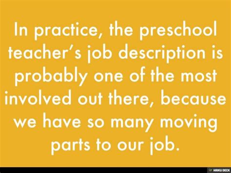 preschool description 693 | preschool teacher job description 5 638