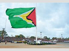 Republic flag raising – Stabroek News
