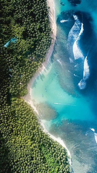 Aerial Division Wave Ocean Landscape Sea Nature