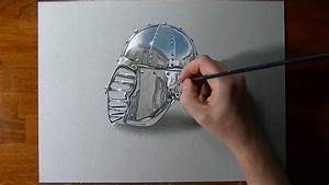 How to draw a chrome surface - YouTube