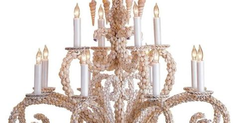 Home Decorators 7 Light Chandelier : Grotto Shell Chandelier
