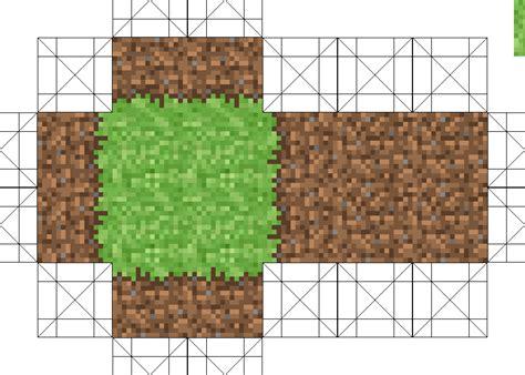 Papercraft Grass 2x2