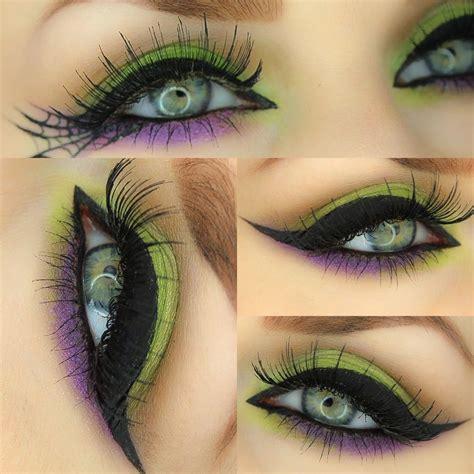 spellbound halloween witch eye   tutorial karla powell   artist