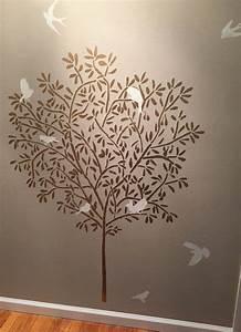 1000 idees sur le theme pochoirs de mur d39arbre sur With pochoir a peindre sur mur