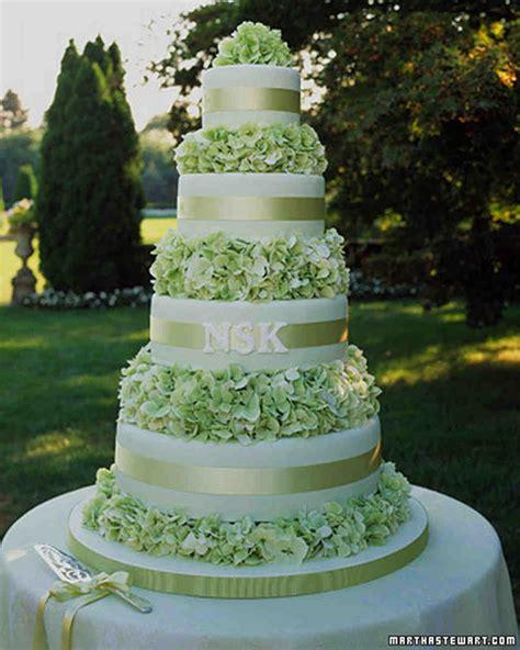green wedding cakes martha stewart weddings