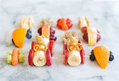10 Easy Adorable And Healthy Food Art Snacks For Kids