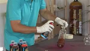 Customiser Une Bouteille De Vin : transformer des bouteilles de verre en vases youtube ~ Zukunftsfamilie.com Idées de Décoration