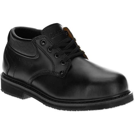 mens comfortable work boots brahma s raid steel toe work boot walmart