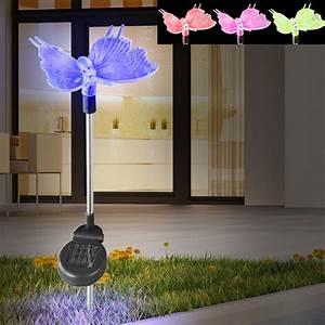 Lampen Für Den Garten : 3er set led solarleuchten f r den garten unsichtbar lampen m bel au enleuchten steckleuchten ~ Whattoseeinmadrid.com Haus und Dekorationen