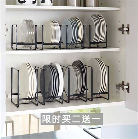 Plate Rack For Cupboard by Plate Dish Rack Kitchen Shelf Drain Bowl Dish Rack
