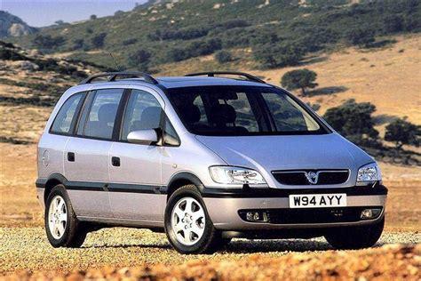 opel car vauxhall zafira 1999 2005 used car review car review