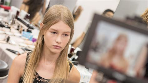 Is Sofia Mechetner 14 Too Young To Model For Christian Dior