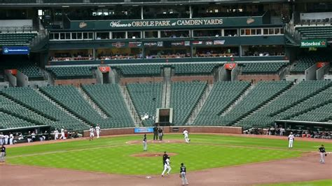 orioles white sox play to empty stadium in wake of