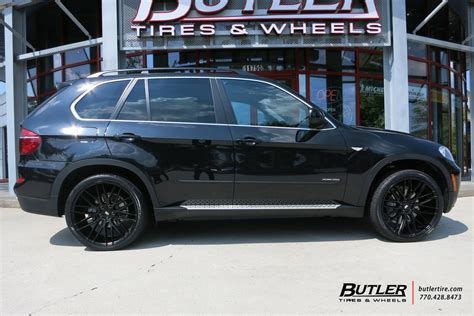 Bmw X5 Tires by Bmw X5 With 22in Savini Bm13 Wheels Exclusively From