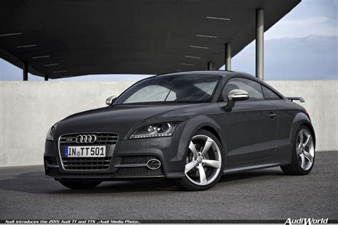 Audi Tt 2015 by Audi Introduces The 2015 Audi Tt And Tts Audiworld