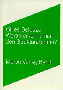 Woran Erkennt Man Tragende Wände : woran erkennt man den strukturalismus von gilles deleuze fachbuch ~ Orissabook.com Haus und Dekorationen