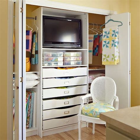 Closet Organization Ideas For Crafts by Discover A Crafty Way To Organize Fabrics Craft Supplies