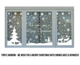 christmas window stickers grabone store