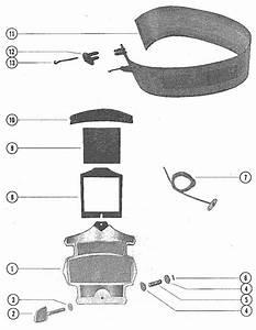 Mercury Marine Model 850 85 Hp  4 Cylinder  Cowling
