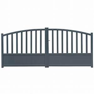 Portail Alu 3m : portail aluminium 3m adelaide oogarden belgique ~ Edinachiropracticcenter.com Idées de Décoration