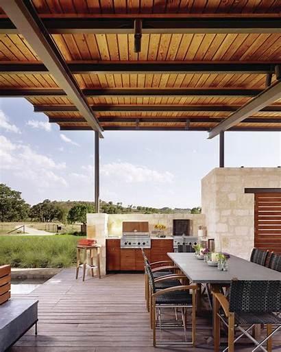 Pool Flato Lake Outdoor Story Kitchen Texas