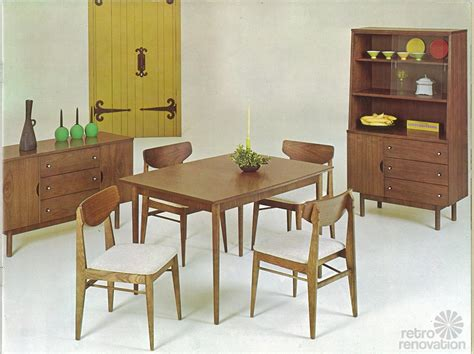 vintage dining room sets vintage stanley furniture mix n match line by h paul browning 11 page catalog retro renovation