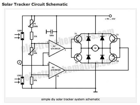 gt circuits gt solar tracker circuit schematic l32131 next gr