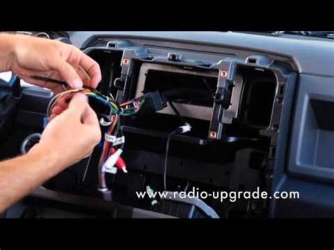 dodge ram radio install youtube