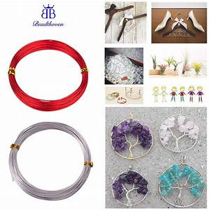 Ready Stock 10m 1mm Aluminum Wire Jewelry Craft Making