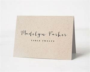 best 20 wedding places ideas on pinterest the big With plain place card template