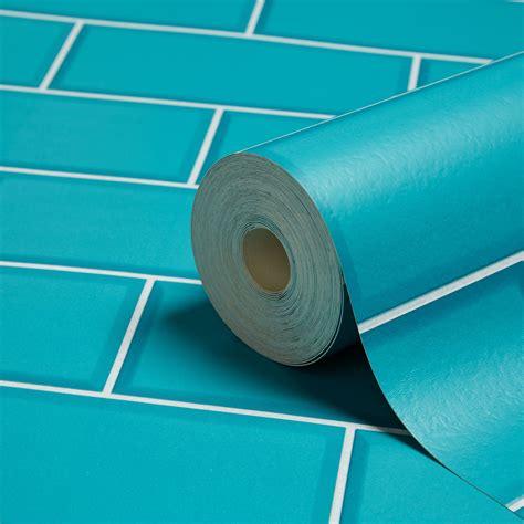 image result  fine decor ceramica teal subway tile