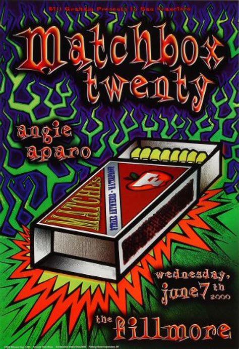Matchbox Twenty Vintage Concert Poster from Fillmore ...