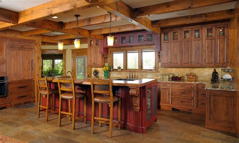 eat at kitchen island mullet cabinet rustic kitchen retreat