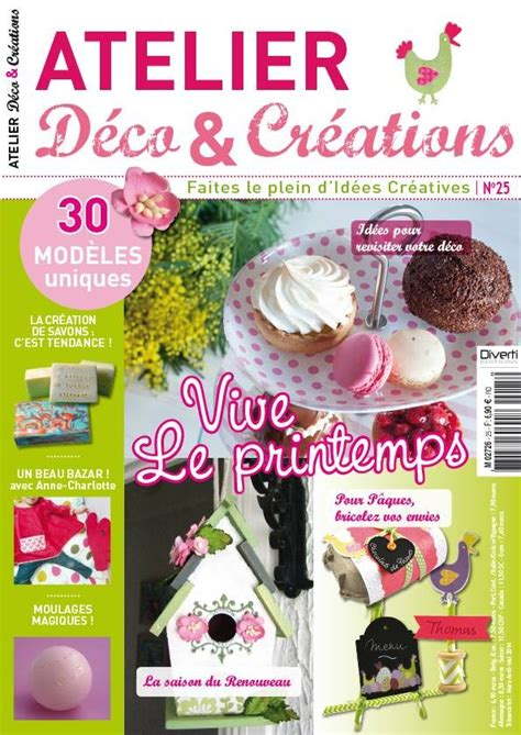 atelier deco et creation publications magazines atelier deco creations n 176 25 moul le de diddlindsey