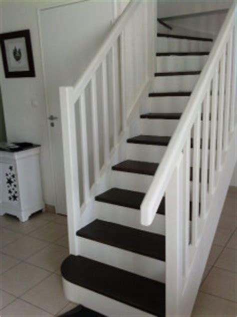 deco escalier blanc