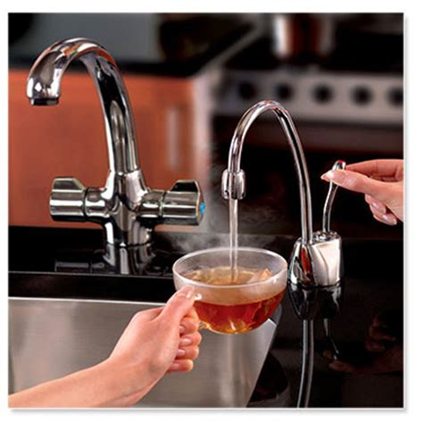 insinkerator garbage disposals and instant hot water