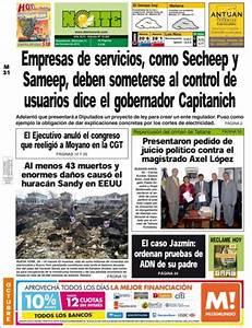 Peri U00f3dico Diario Norte  Argentina   Peri U00f3dicos De Argentina  Edici U00f3n De Mi U00e9rcoles  31 De Octubre